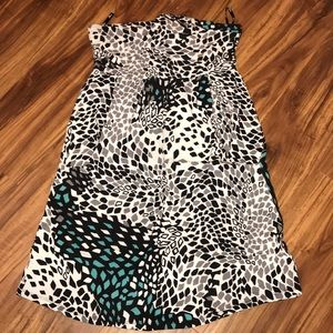 Guess strapless dress with 2 pockets